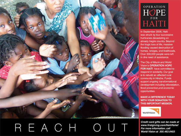 Hope For Haiti Email Flyers : Oh! Olga Hayon